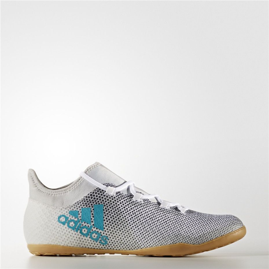 Adidas X Tango 17.3 Indoor Shoes (Running White Ftw   Energy Blue   Black) 36391e741