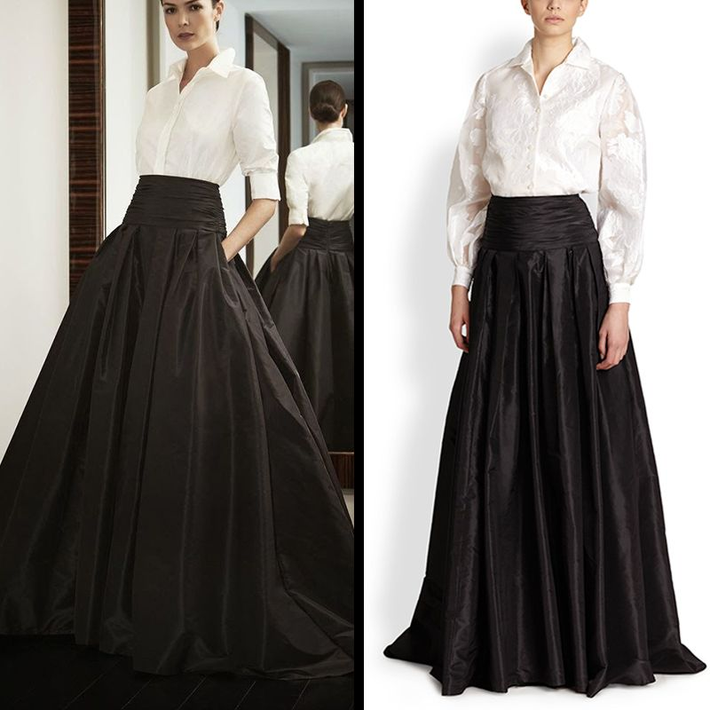 Long Black Skirts For Sale - Dress Ala