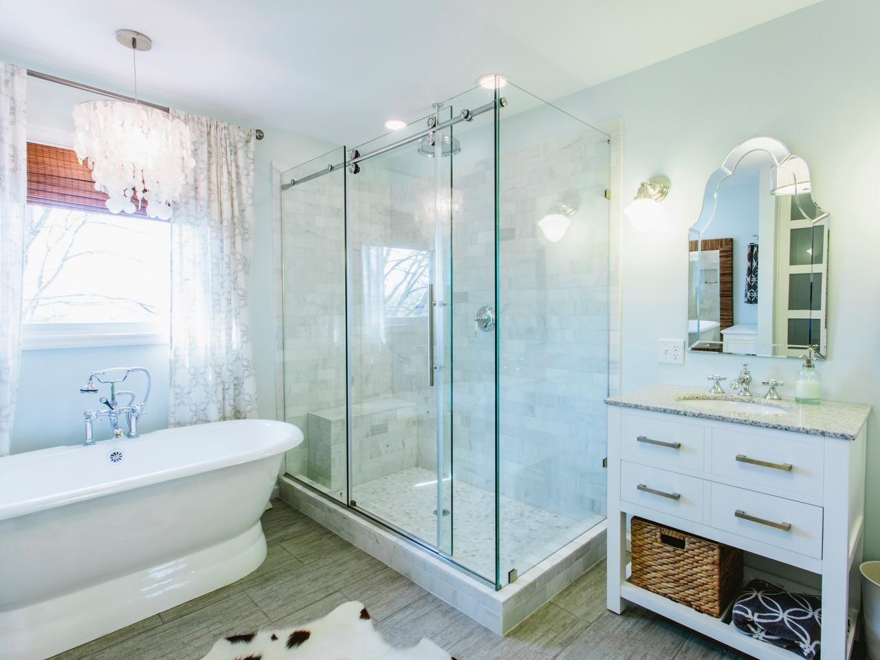 Bathroom Shower Designs | Hgtv, Bath and Shower storage