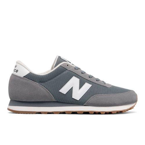 new products ad930 7b4ea 501 New Balance Men s Running Classics Shoes - Grey White (ML501CVA)