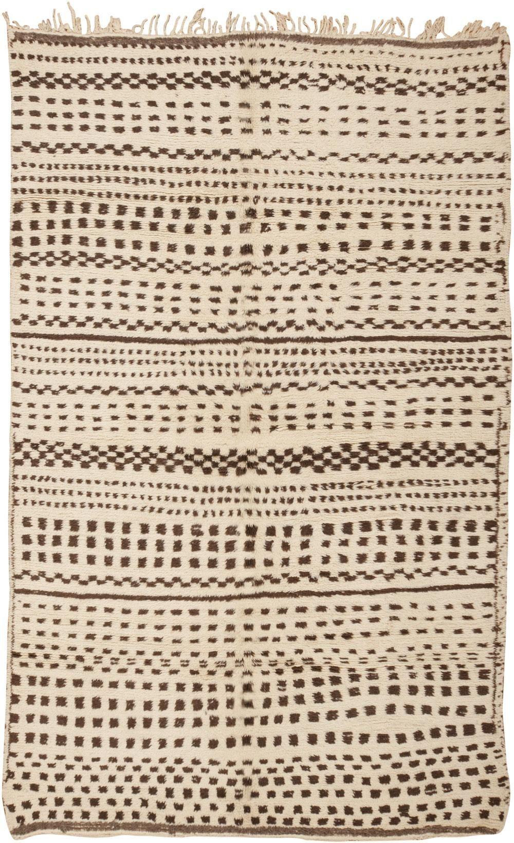 Vintage Moroccan Rug 45688 - by Nazmiyal