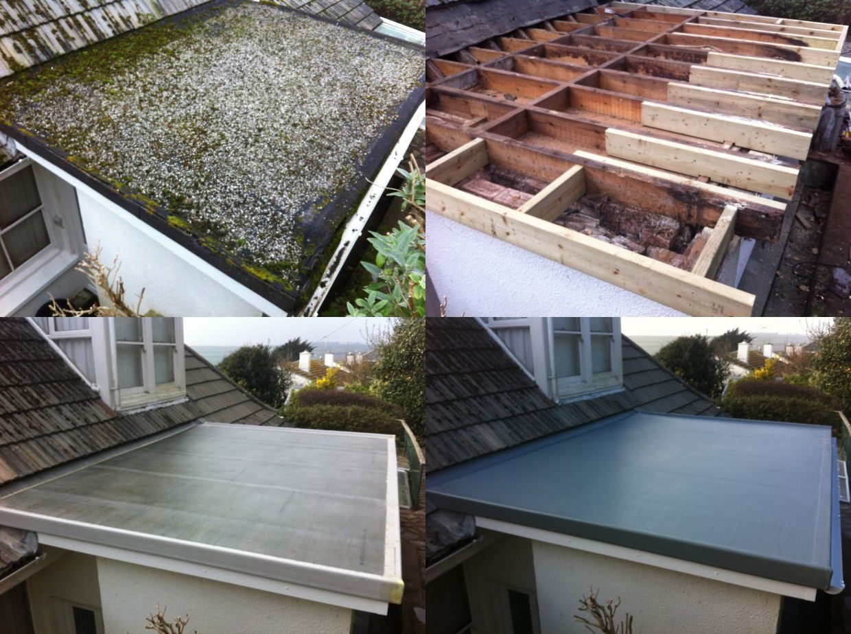 GRP Firbreglass Roofing Systems with a 25 year guarantee ...