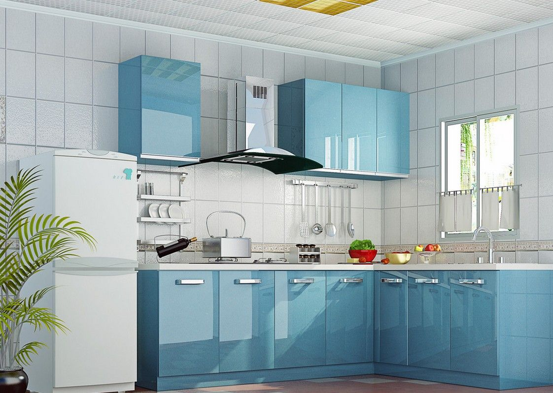 fine-light-blue-kitchen-cabinets-elegant-kitchen-light-blue