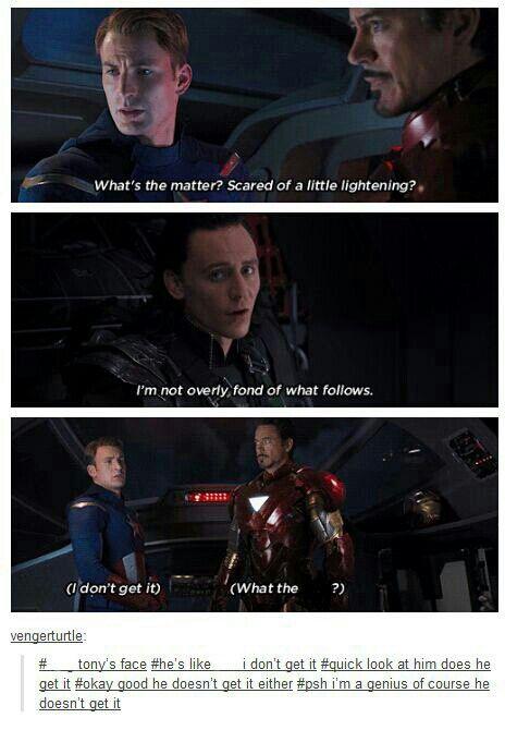 Hahaha    really tho it makes it sound like Loki's afraid of