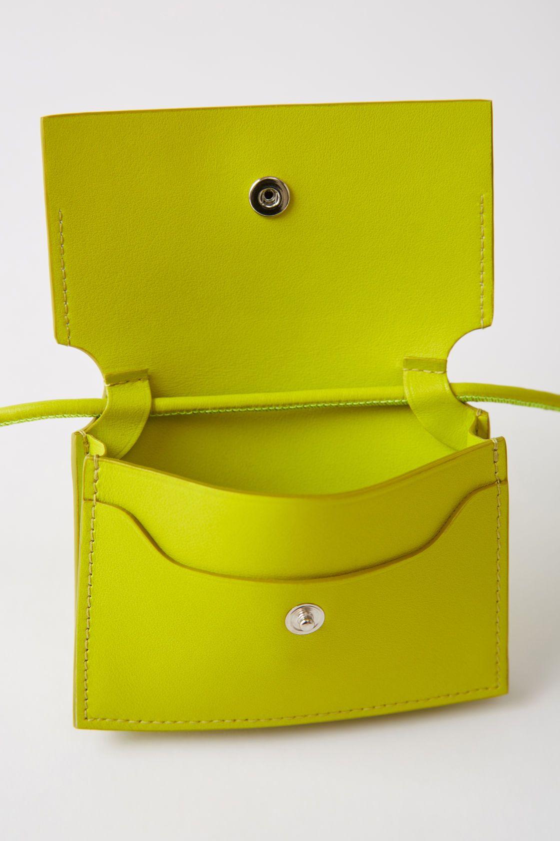 Coin purse lime green $230
