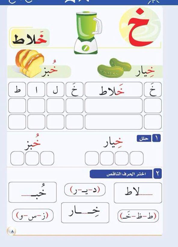 حروف وكلمات وتحليلها Learning Arabic Arabic Alphabet For Kids Arabic Kids