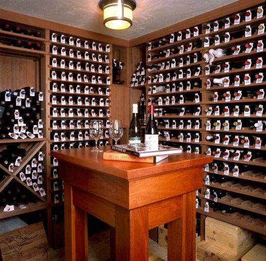 Tasting Table Wine Cellar Wine Room Wine