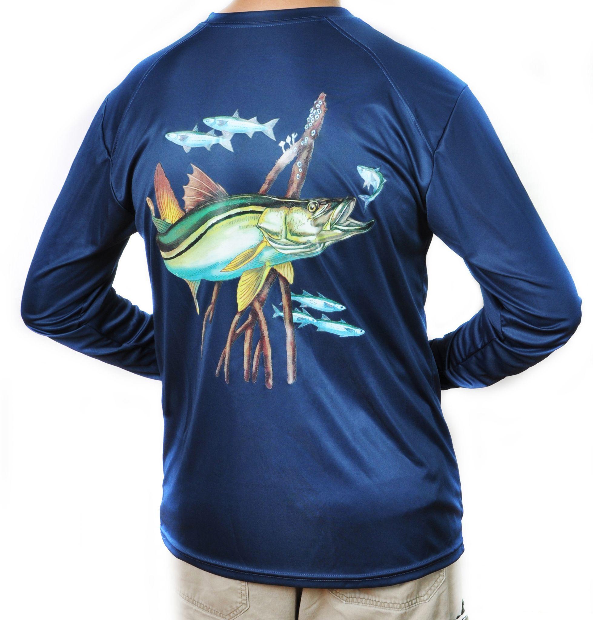 5fa139fca0d Magellan Outdoors Mens Casting Long Sleeve Crew Shirt - Joe Maloy