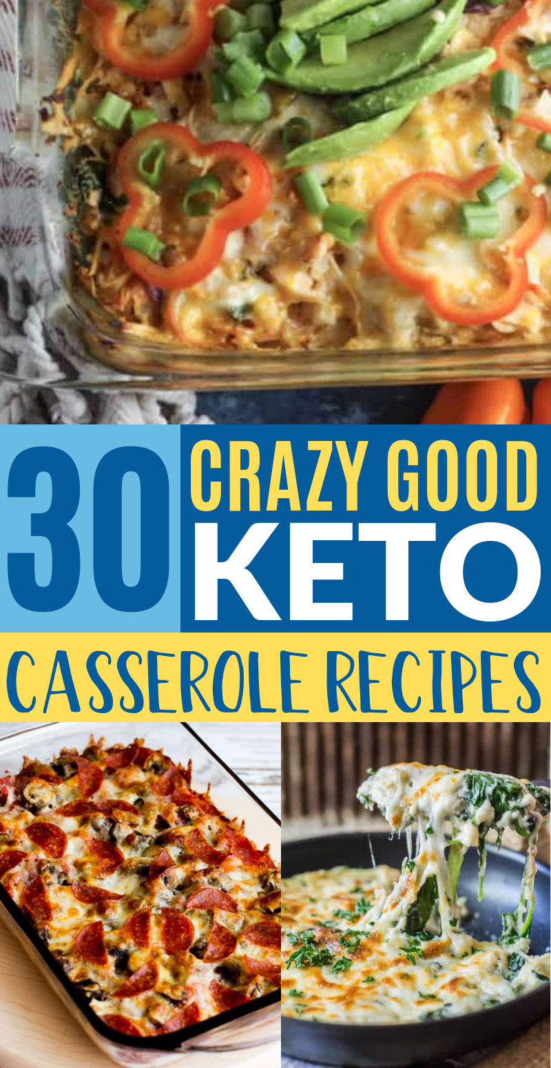 Photo of 40 Easy Keto Casserole Recipes For Weight Loss