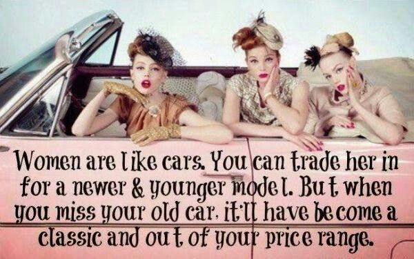 Women Are Like Cars Inspirational Quotes Pinterest Funny Car