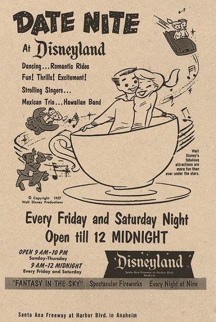 date Disney vintage