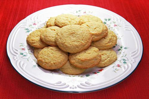 Gluten Free No-Roll Sugar Cookies
