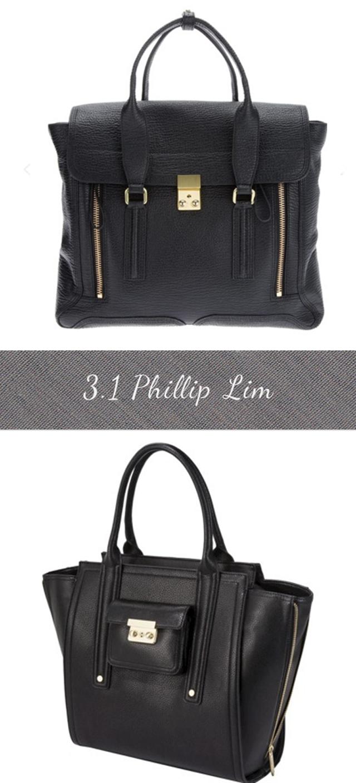 f9acb83e2b Large black tote. Work   travel handbag. On the top the 3.1 Phillip Lim  Pashli