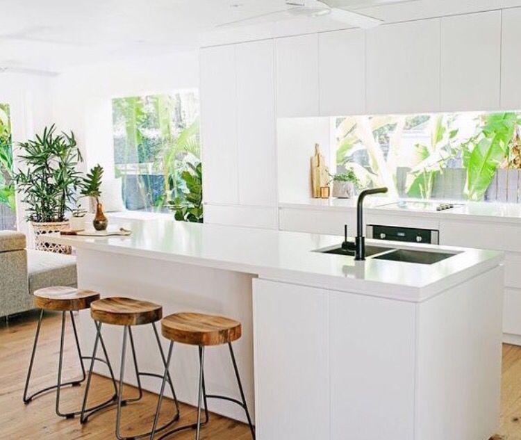 Window Splashback Kitchen Inspirations Elegant Kitchens