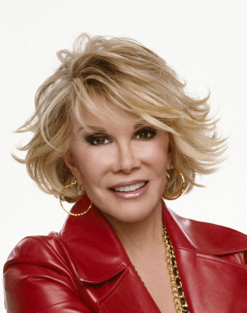Joan Rivers Older Women Hairstyles Short Hairstyles For Women Short Hair Styles
