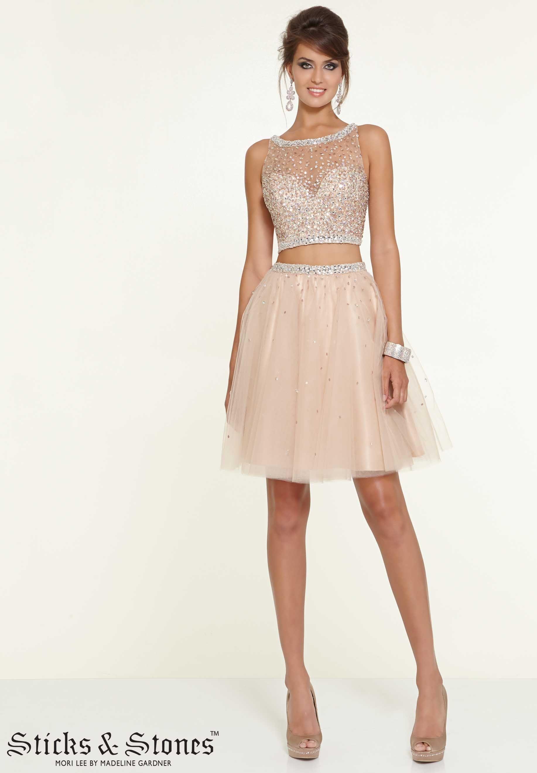 Two Piece Cocktail Dresses - Ocodea.com
