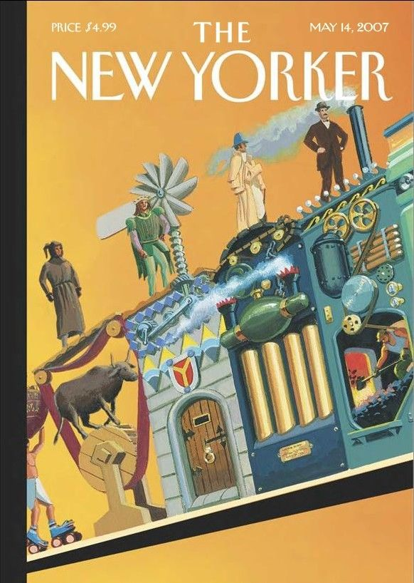 New Yorkers Covers About Ascent Of Man >> The New Yorker Monday May 14 2007 Issue 4215 Vol 83 N