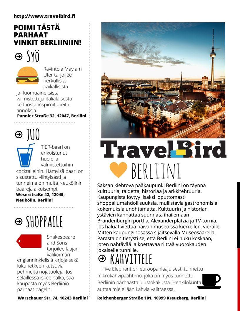 #berliini #saksa #matkavinkit #kaupunkiloma #shoppailu #ravintolat #vinkit #kahvilat #matkustaminen #matkailu