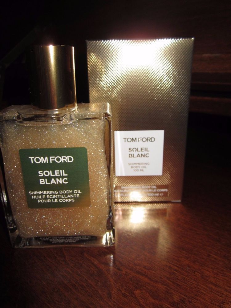 db6ae42c1c2 TOM FORD SOLEIL BLANC SHIMMERING BODY OIL 3.4 OZ 100 ML Women s Perfume New  NIB  TomFord