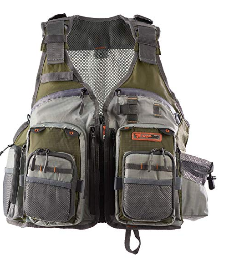 Anglatech Fly Fishing Vest Pack Trout Fishing Gear Fishing Vest Orvis Fly Fishing