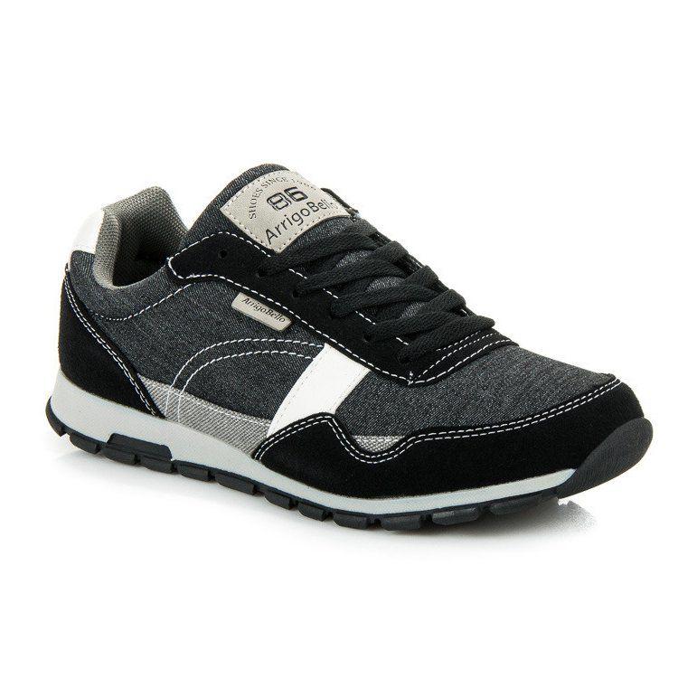 Sportowe Meskie Arrigobello Arrigo Bello Czarne Sportowe Obuwie Dla Mezczyzn Adidas Sneakers Shoes Adidas Samba Sneakers