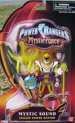 Rangers In Yellow Figure Force Sound Mystic Ranger New Action Power jc54qA3LR