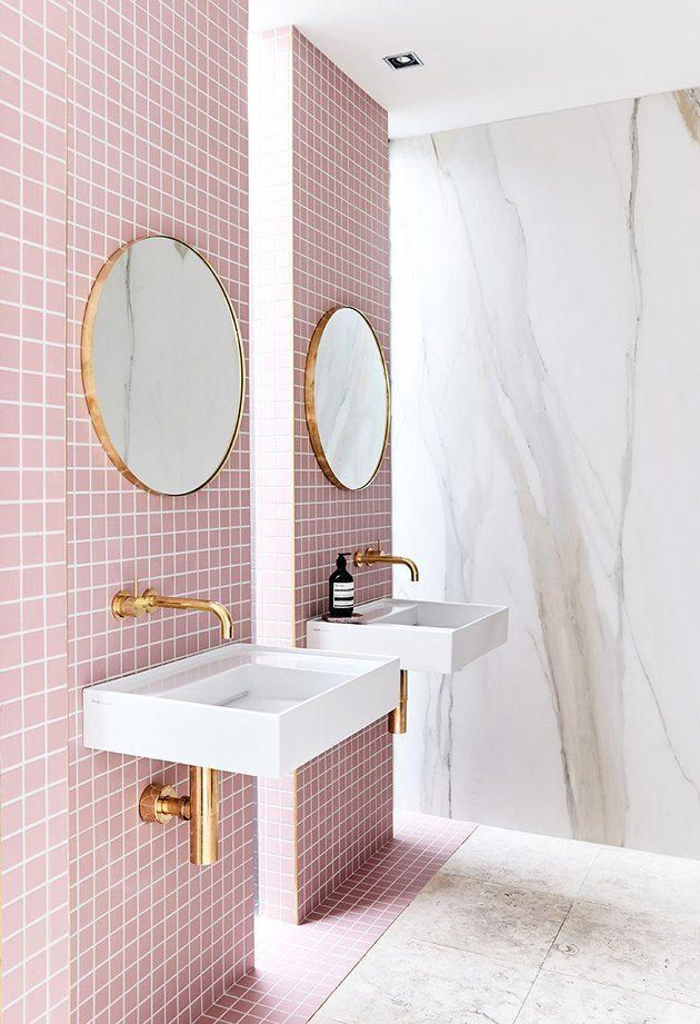 20 pink bathrooms that are positively swoonworthy