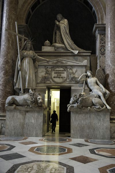 """St. Peter's Basilica, Vatican City, Italy ( """"You SHALL NOT"""