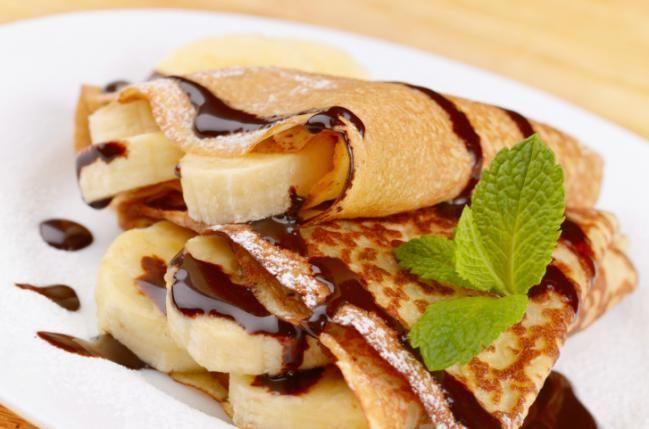 Ricos panqueques de plátano y chocolate - IMujer