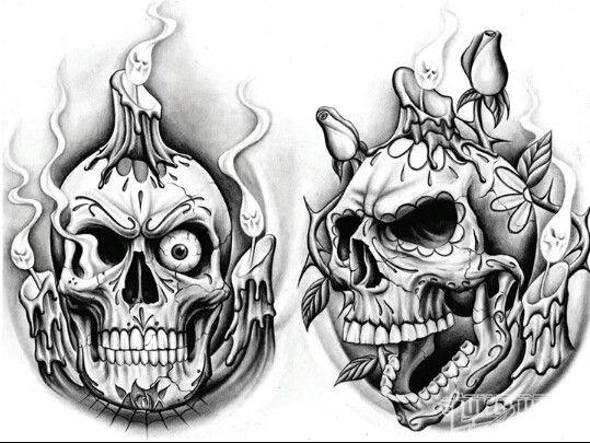 Skuls Skull Art Skull Tattoo Design Sugar Skull Tattoos