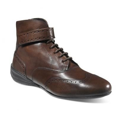 leather racing shoes