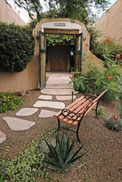 High Style Low Key Feel Desert Backyard Arizona Backyard