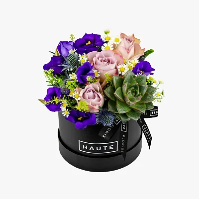 Haute Florist Luxury Flowers Hat Box Flowers Free