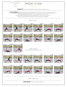 friday flow · the body book  secuencias de yoga posturas