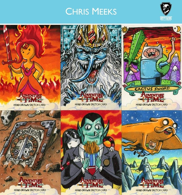 Adventure Time Sketch Cards