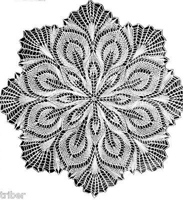 Knitted Lace MIMOSA 16\