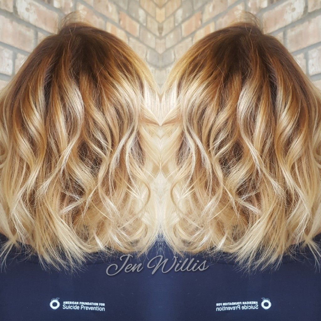 Baylayage Blonde Salon Platinum Conway Ar Hair By Jen