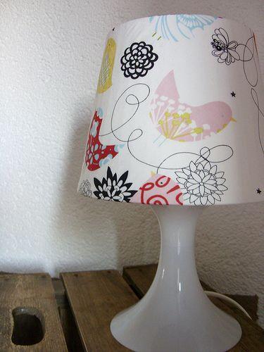 Ein Lichtlein Brennt Lampenschirm Beziehen Ikea Diy Ikea Lampen