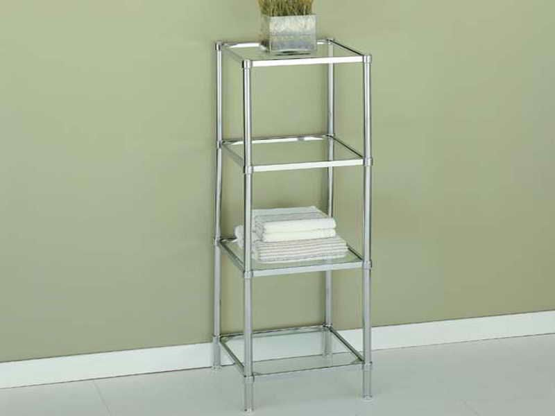 Charmant Bathroom Shelves Unit