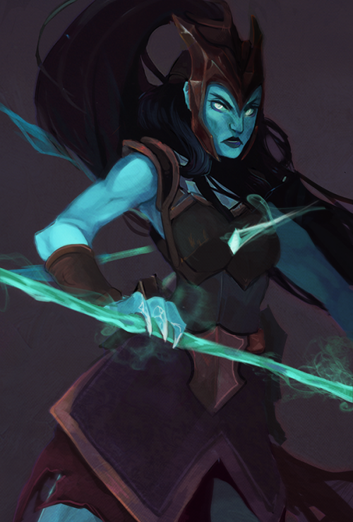 sharkytails: out of all the champions kalista probably has my...
