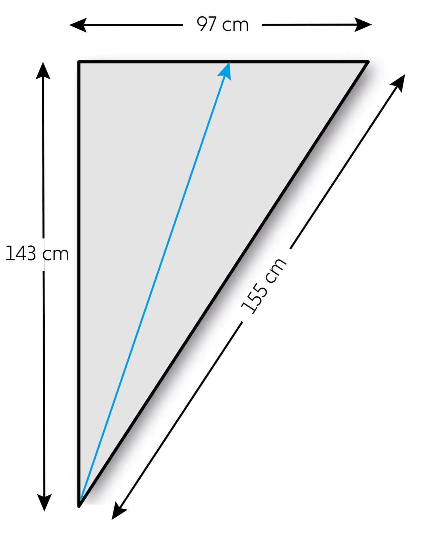 Photo of Dreieckstuch mit zwei Zopfborten – kostenlose Strickanleitung