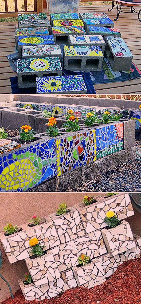 Photo of Einfache und niedliche DIY Mosaikideen für Ihren Garten und Hof