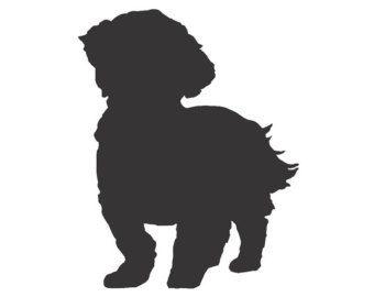 Shih Tzu Clipart Google Search Dog Silhouette Shih Tzu Dog Dog Tattoos