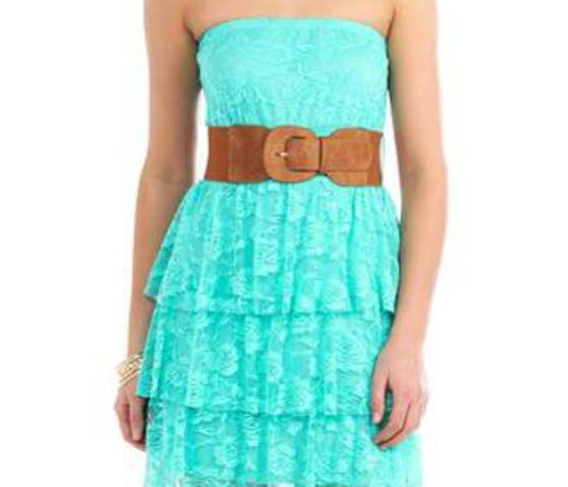 This turquoise summer dress is to die for ! Am I right? | Dream ...