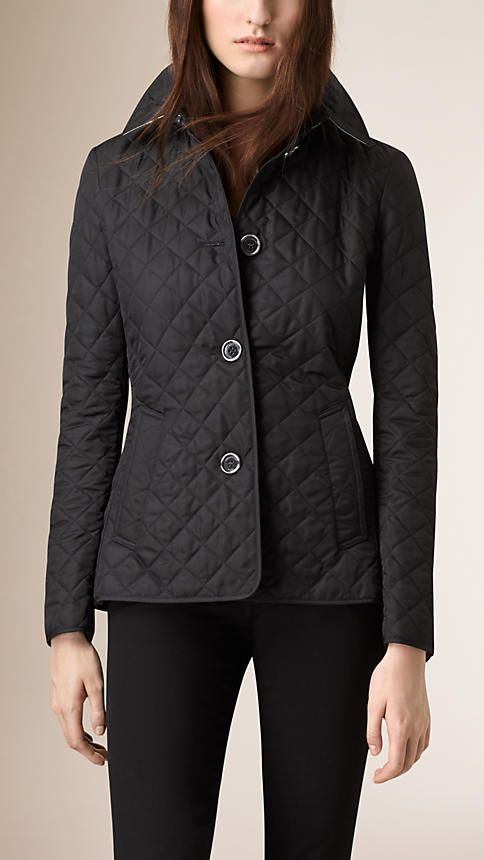 Black Diamond Quilted Jacket - Image 2   Cute Clothes   Pinterest ... b5dd5cab8bd
