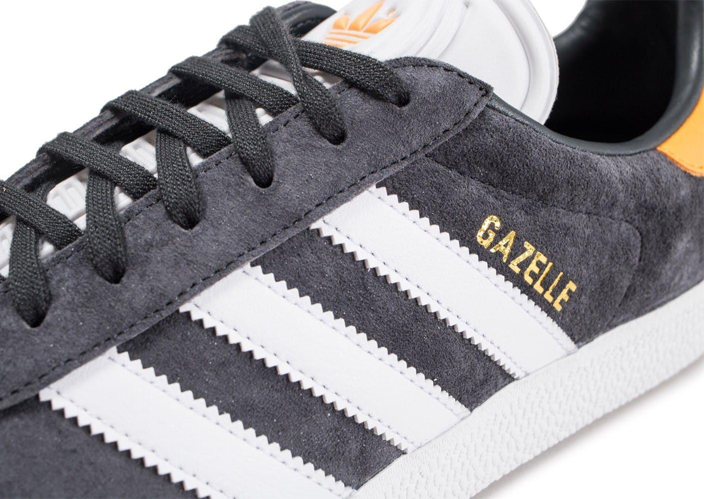 adidas gazelle gris fonce