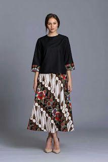 50 Model Baju Batik Terbaru 2018 Modern Elegan Pakaian Wanita Model Baju Wanita Model Pakaian