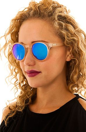 dd2956eb5478 Le Specs- Hey Macarena Raw Sugar Sunglasses