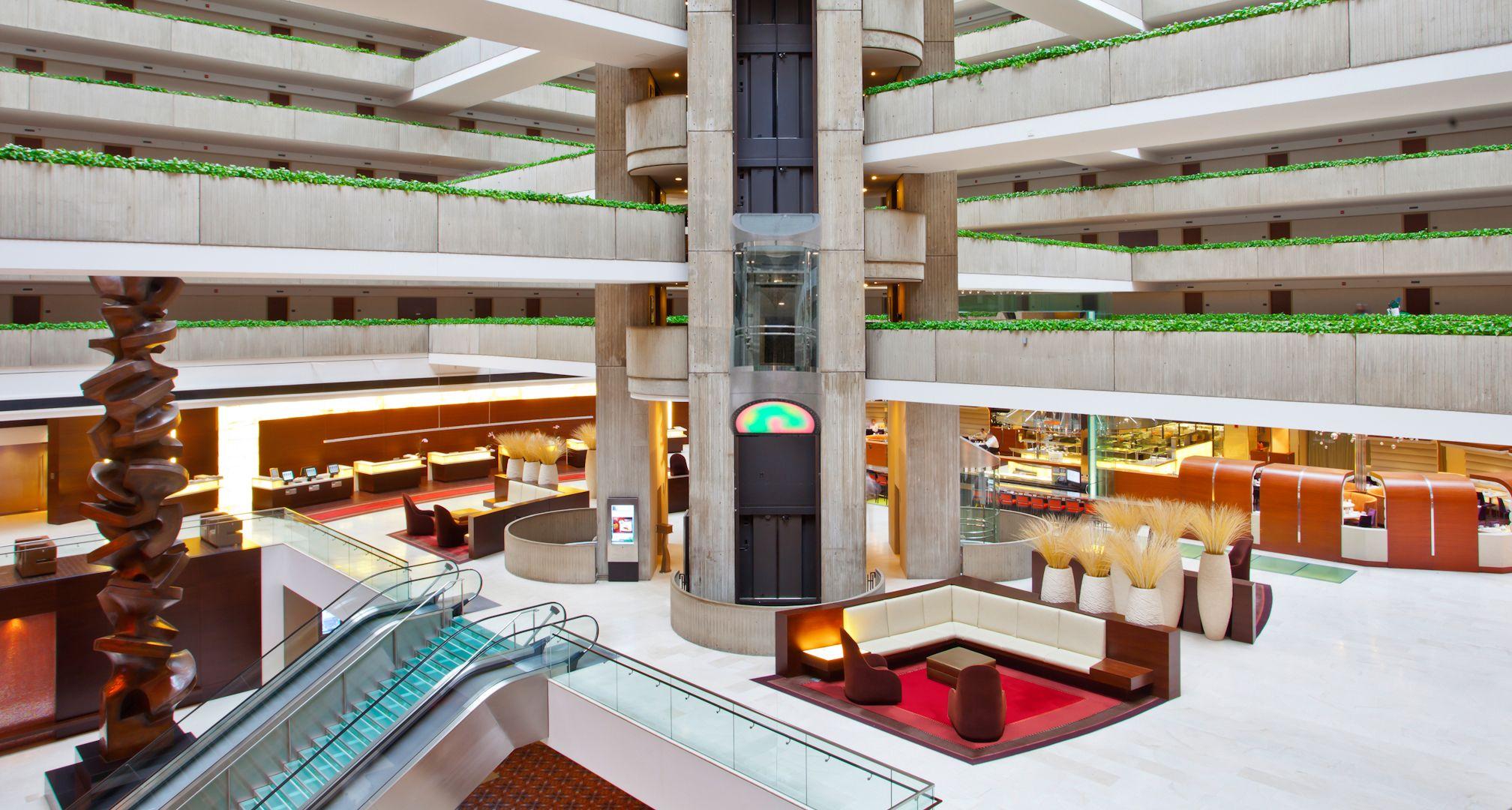 Hyatt regency ohare house styles architecture good