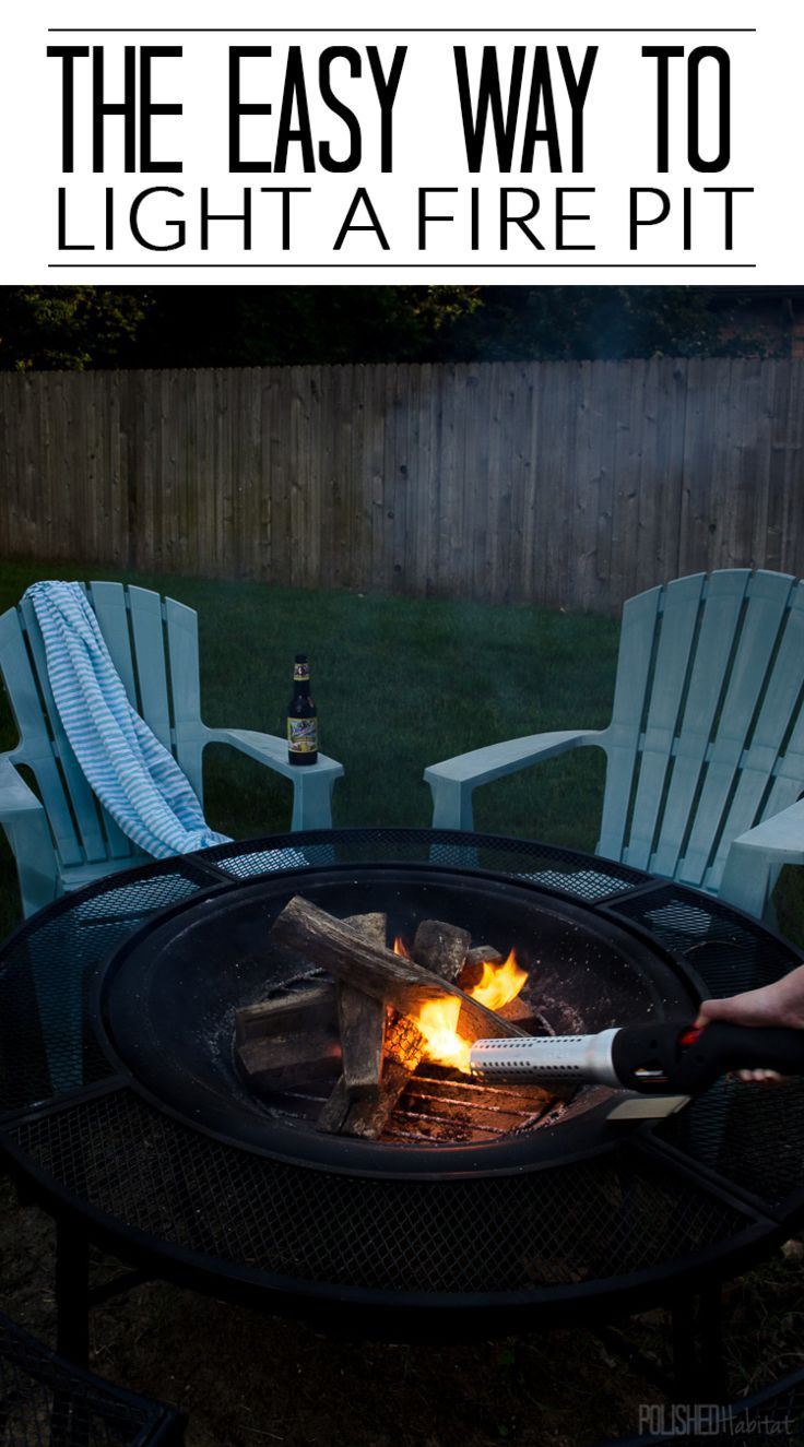 LOVE THIS TOOL! Light a fire pit, charcoal grill, or wood